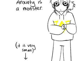 Externalising Anxiety: Showing Anxiety Who's Boss