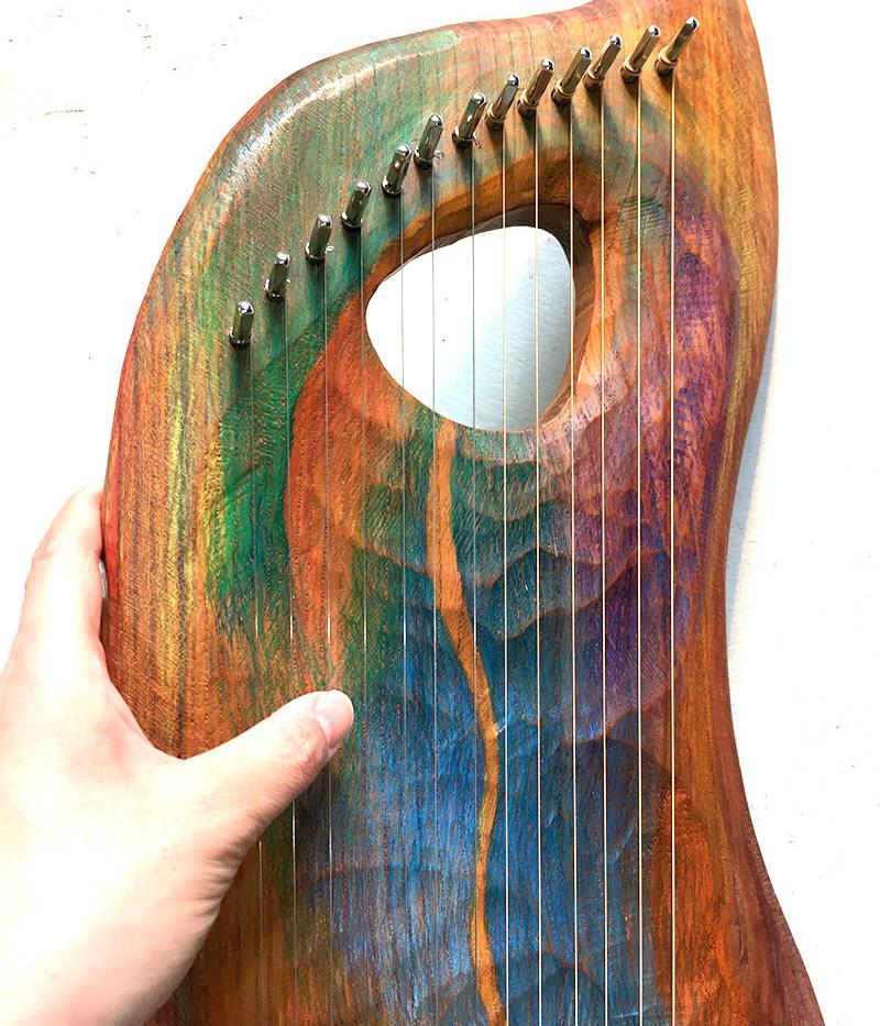 ミズメ:樺の木 13弦ペンタトニックライアー