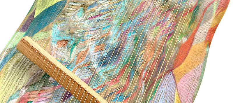タモの木 30弦ペンタトニックライアー
