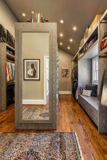 master closet + dressing room