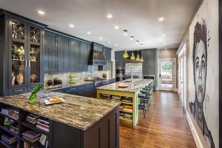 a statement kitchen