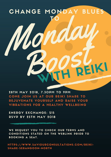 First Monday Boost poster