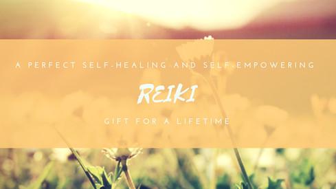 Promo for Reiki Class