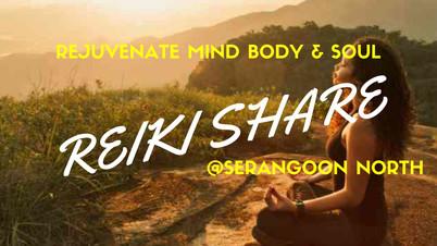 Reiki Share banner