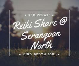Reiki share October evening promo