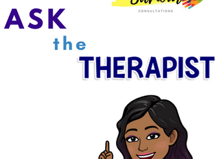 """""""Ask The Therapist"""" blog series Introduction"""