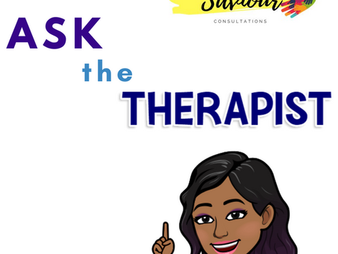 """Ask The Therapist"" blog series Introduction"