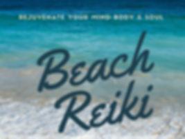 Beach reiki poster