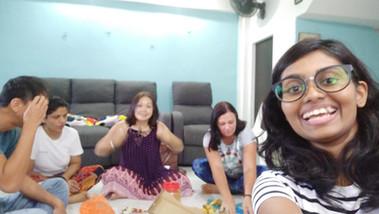 Makan Selfie =)