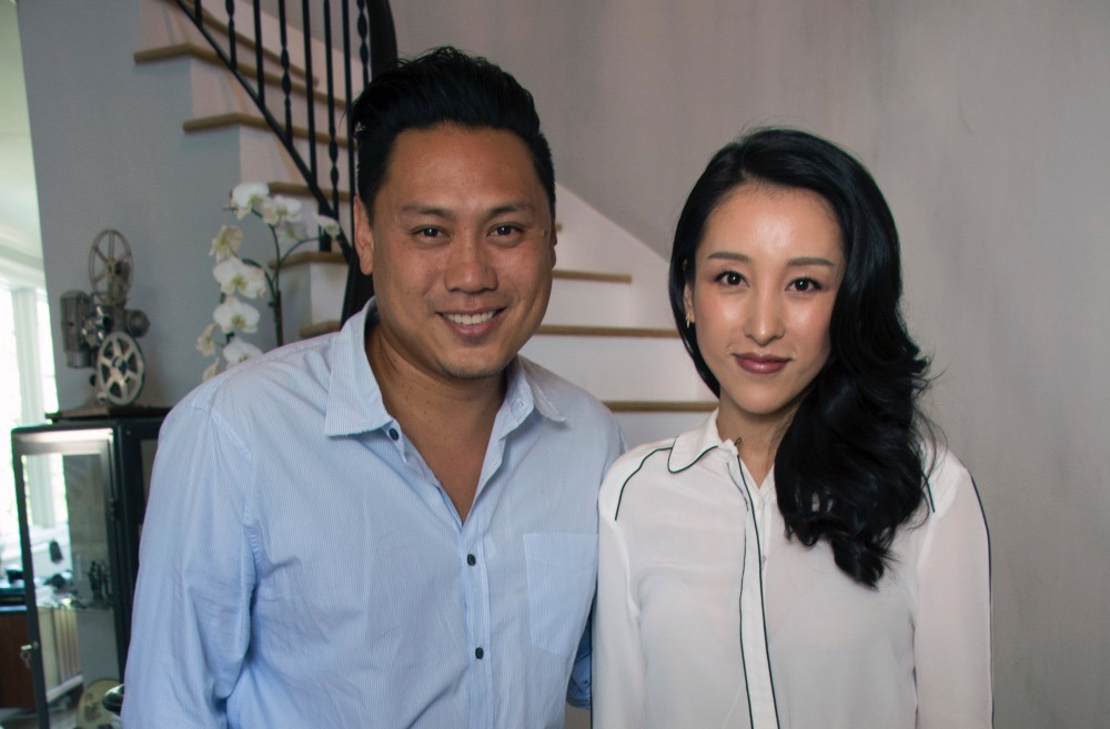 Jane Wu with Jon Chu, Director