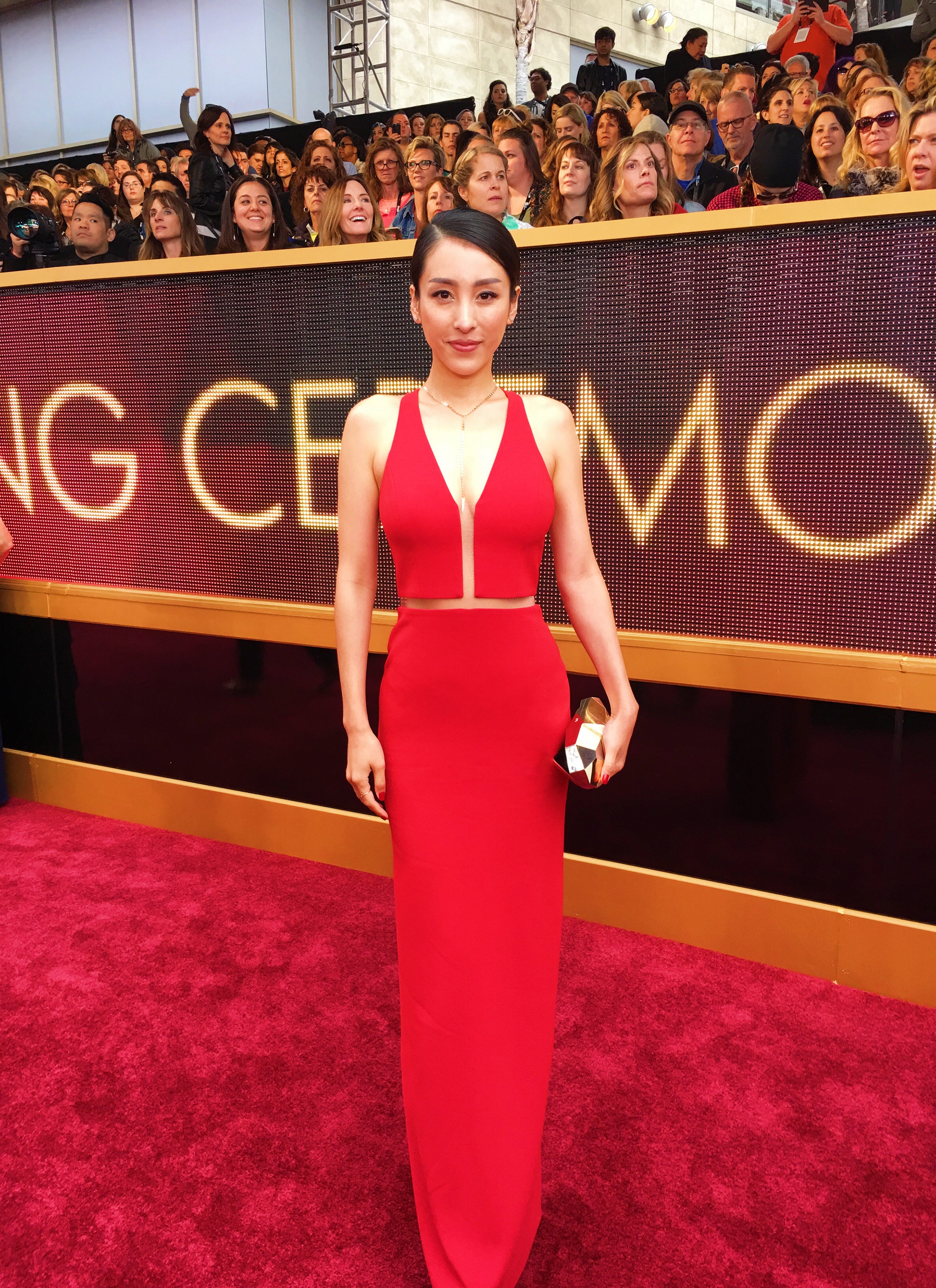 Jane Wu at the Oscars 2017