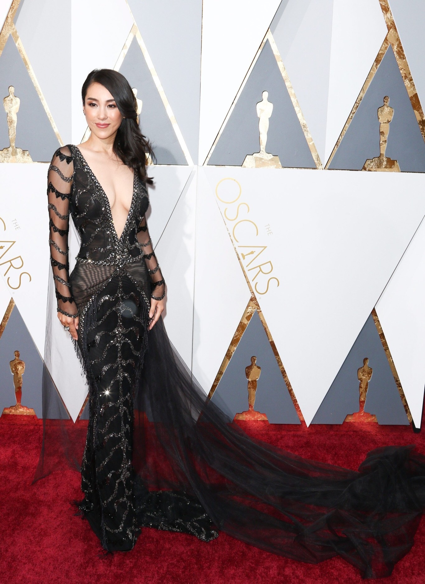Jane Wu at the Oscars 2016