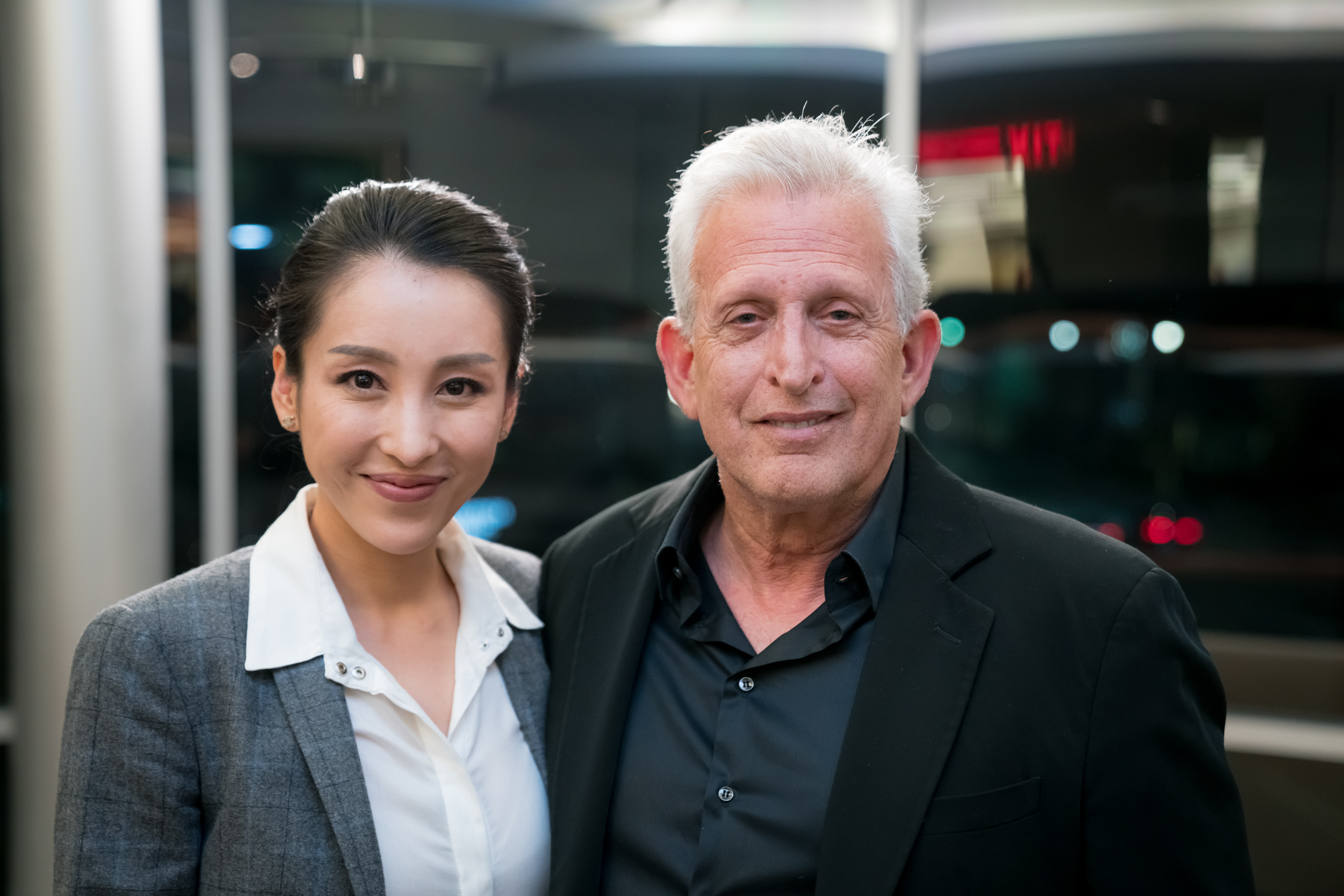 Jane Wu with Joe Roth
