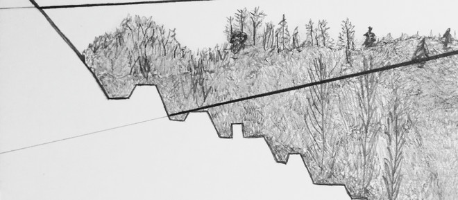 Winter drawing