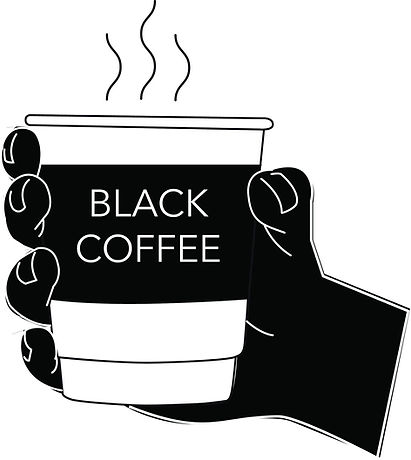 Black Coffee Justice Logo