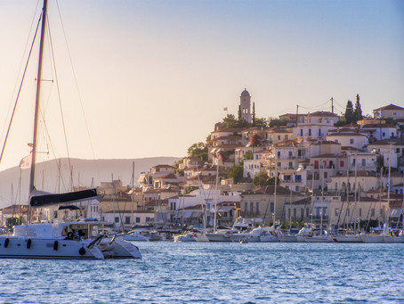 Proposed sailing route:  Saronic Gulf