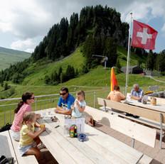 Restaurant Fuederegg-Hoch-Ybrig-draussen