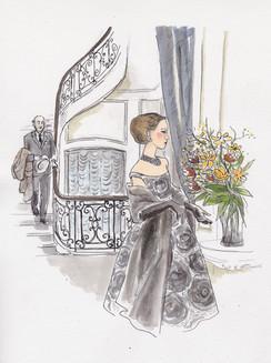 femme en Dior