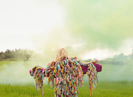 And Her Technicolour Dream Coat