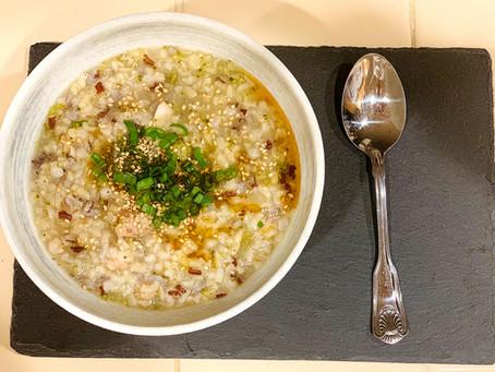 "Congee (粥 zhōu) is a ""cure-it'all"" food."