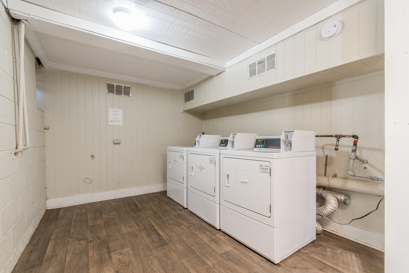 Newly Renovated Laundry Facility