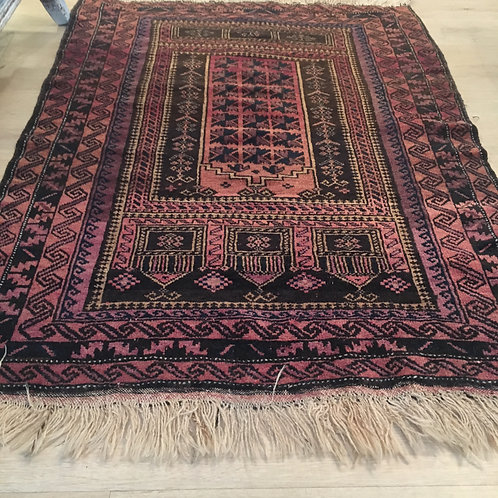 Old small rug in perfect cond 2.11 x 3