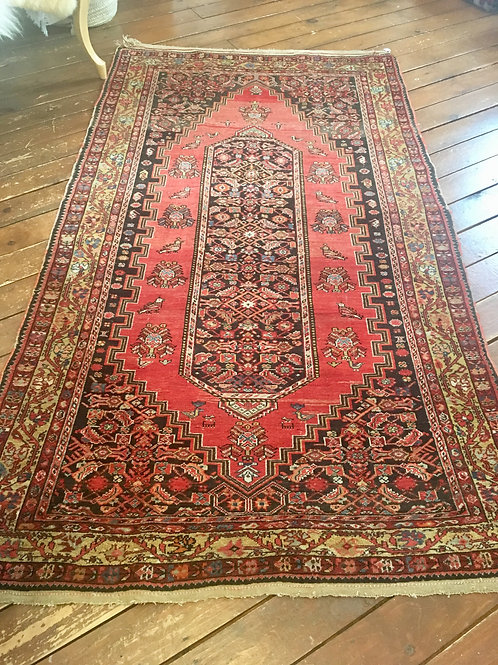 Antique rug 4x7
