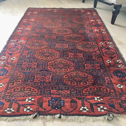 Antique rug 3 x 5