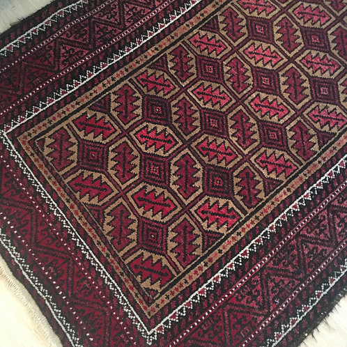 Old runner rug 2.8 x 5.5