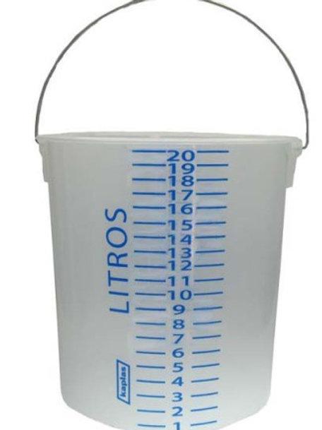 Balde Milimetrados: 10 Litros
