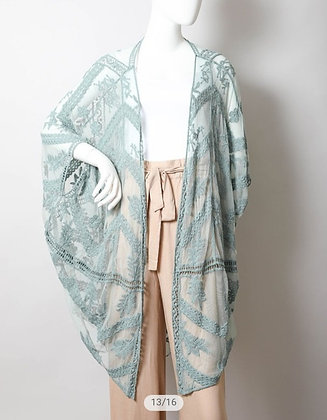 Sage Kimono