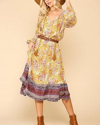 Breezy Floral Dress