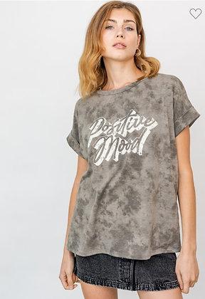 Olive Positive Mood T-Shirt