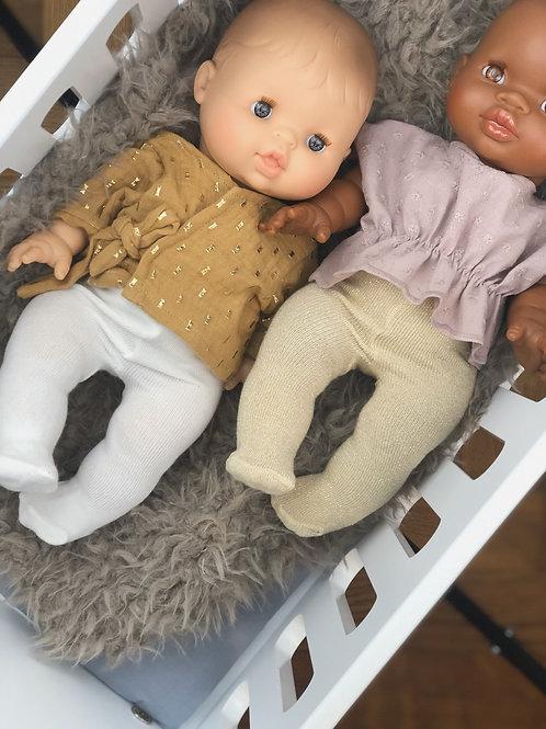 Strumpfhose für 34cm Puppe