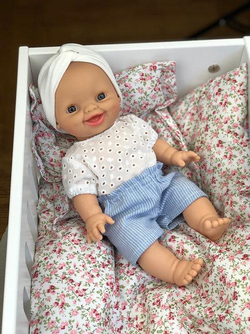 Bekleidung für Babypuppe 34cm