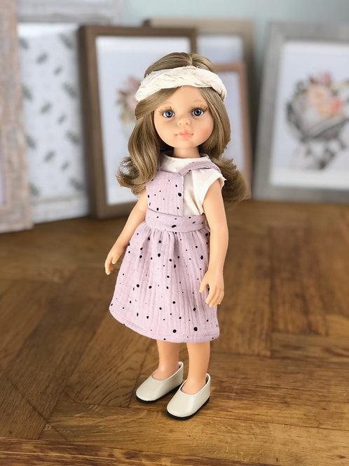 Puppe 32 cm mit Bekleidung FRANZI
