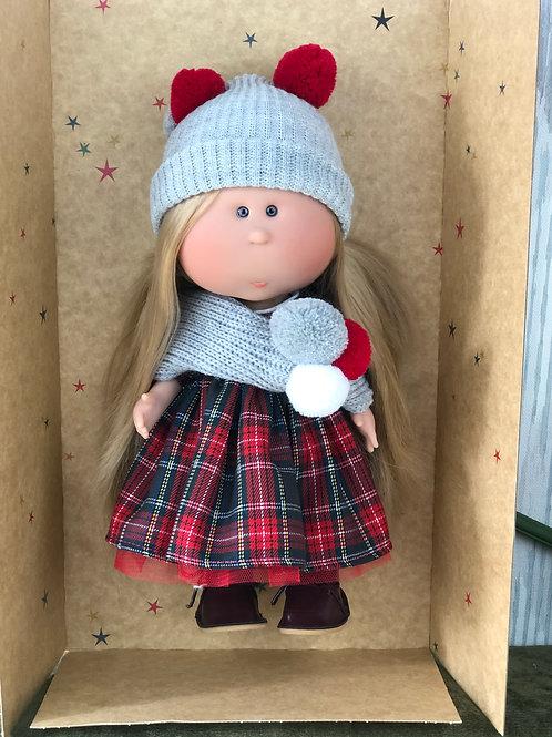 Puppe 30 cm mit Bekleidung