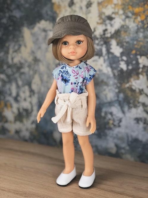 Puppe 32 cm mit Bekleidung LOLA