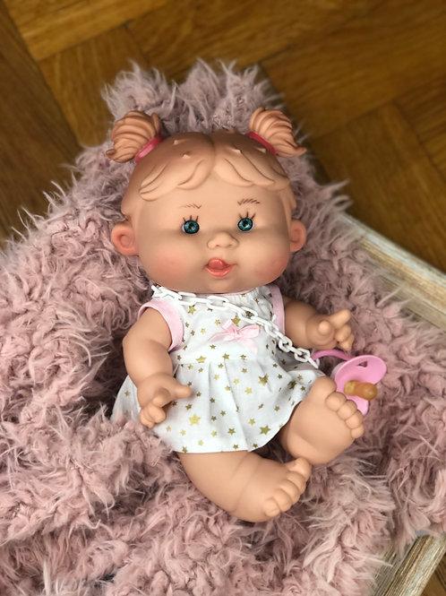Puppe 26 cm mit Bekleidung