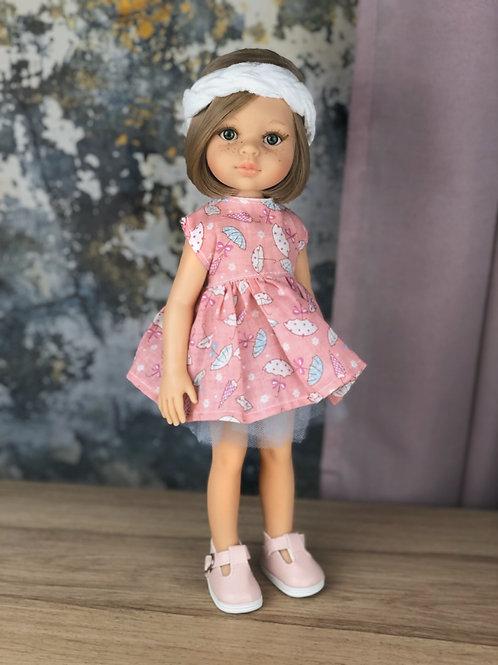 Puppe 32 cm mit Bekleidung JANA