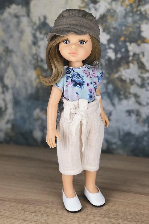 Puppe 32 cm mit Bekleidung KLARA
