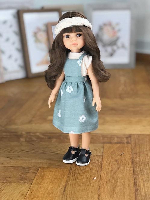 Puppe 32 cm mit Bekleidung PIA
