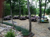 Reception on patio