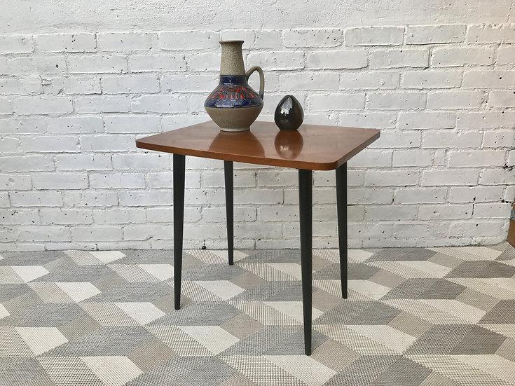 Vintage Retro Wooden Side End Table #457