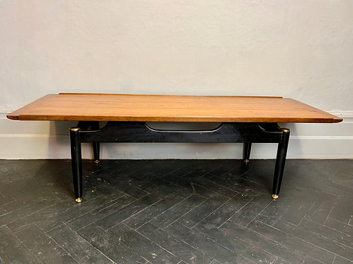 Vintage G Plan Coffee Table Teak Wood #999