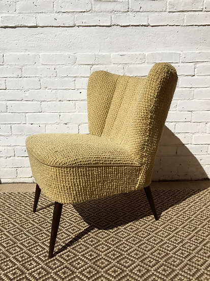 Vintage Cocktail Chair 1960's Ca