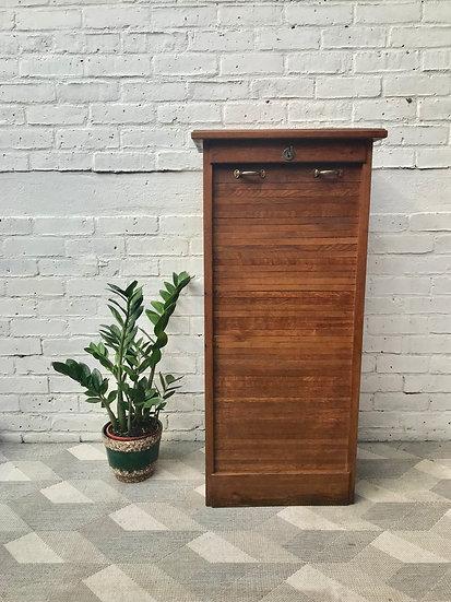 Vintage Filing Cabinet Tambour Haberdashery #774