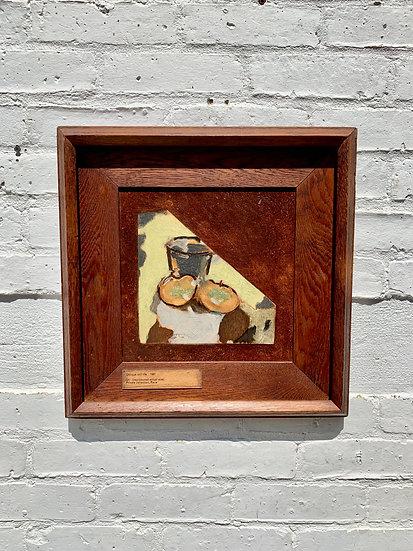 Vintage Framed Print Still Life Art #987