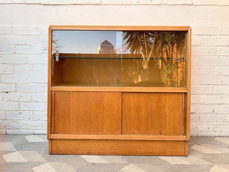 Vintage Bookcase Glass Cabinet by G Plan #D350