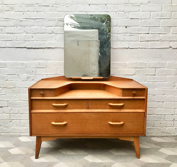 G Plan Dressing Table With Mirror Bedroom #906